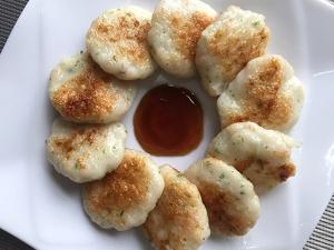 手工鲜虾饼